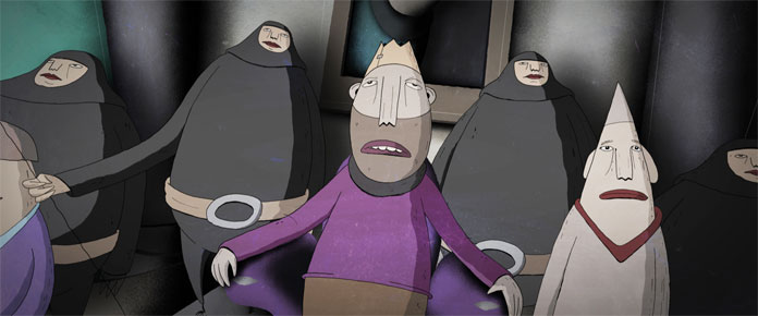 Planemah is a trippy short film about a crazy king.