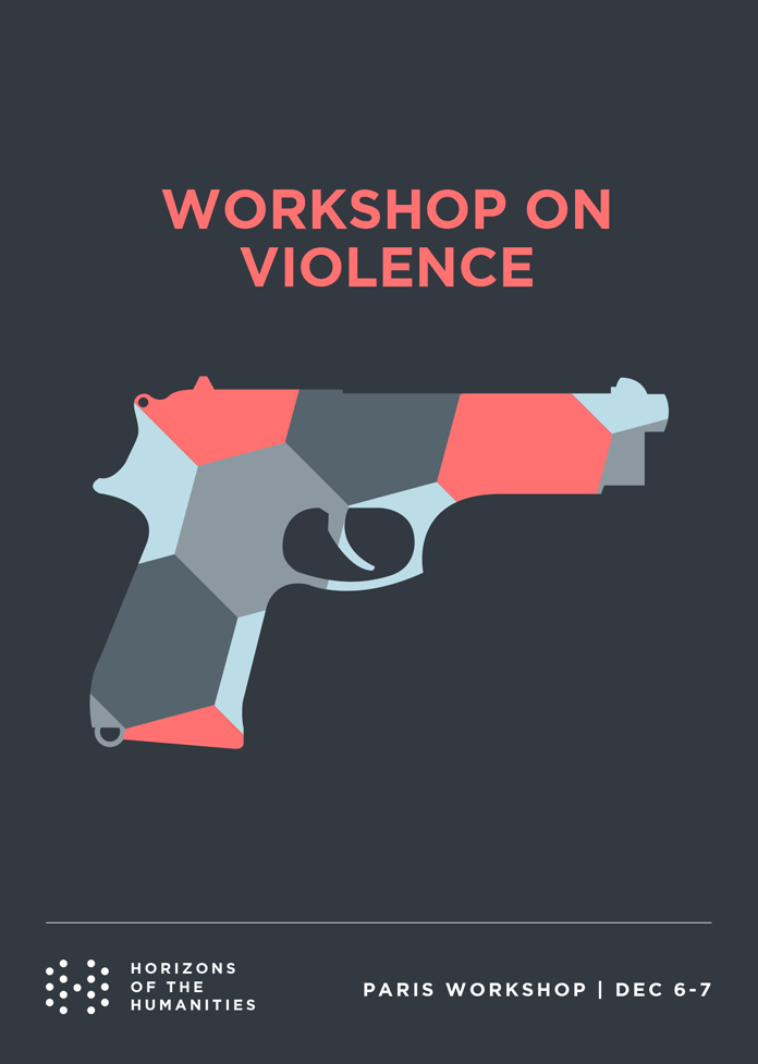 UCHRI Workshop Violence poster design.