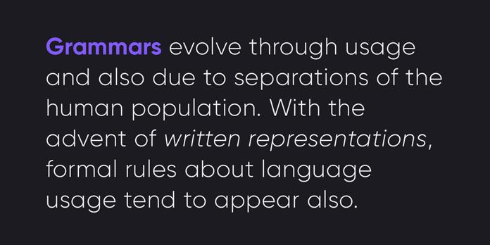 Modern sans serif text sample.