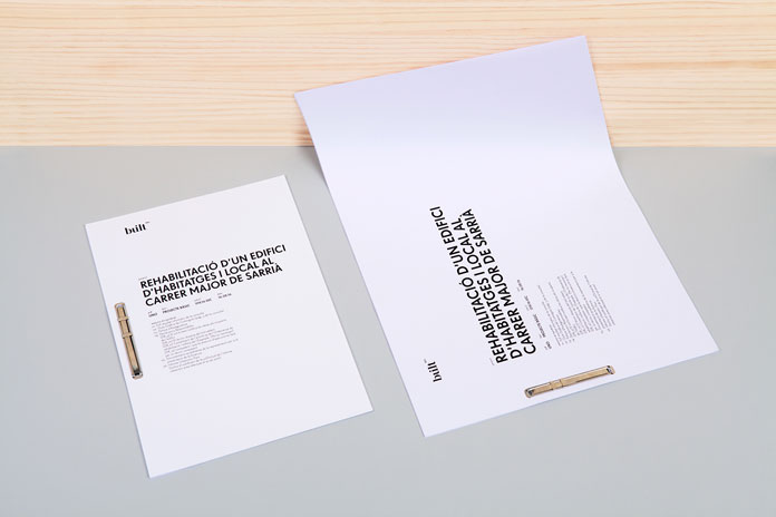 Printed collateral created by Mayra Monobe.