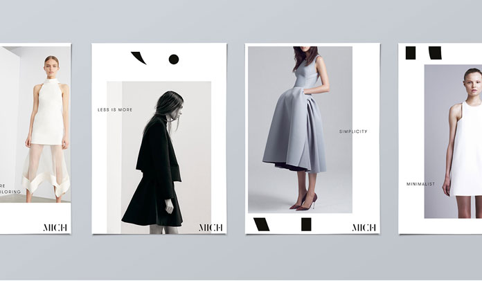 A boutique that offers minimalist effortless clothing.