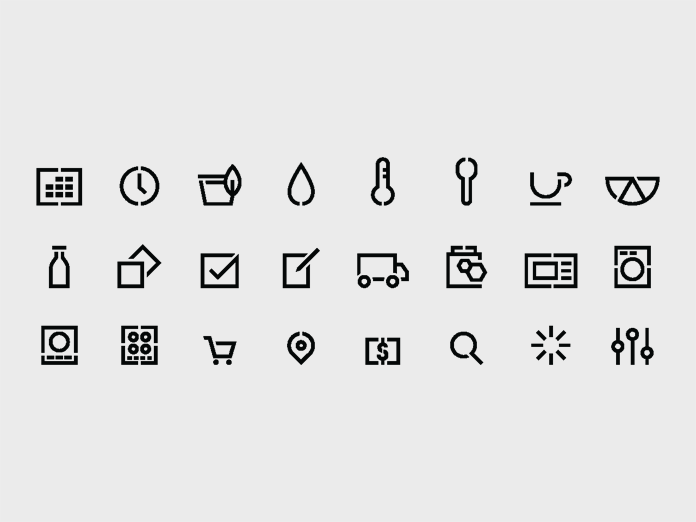 Custom icons.