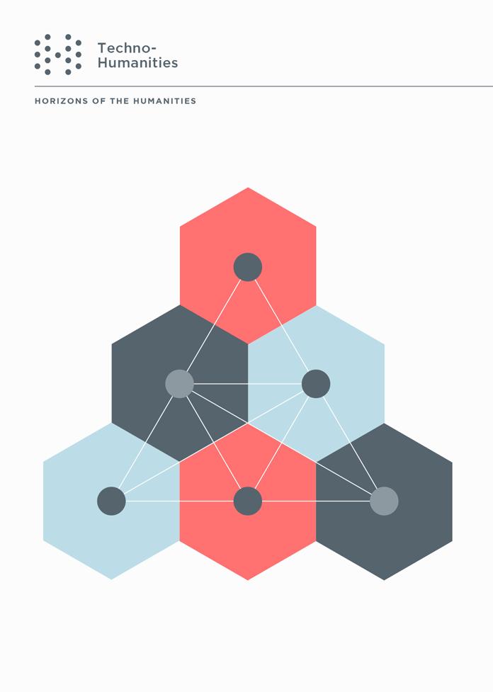 UCHRI Techno Humanities hexagon pyramid.