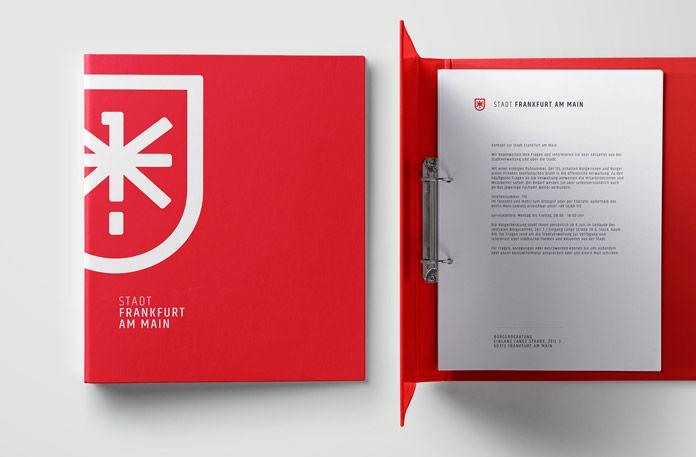 Folder and letterheads.