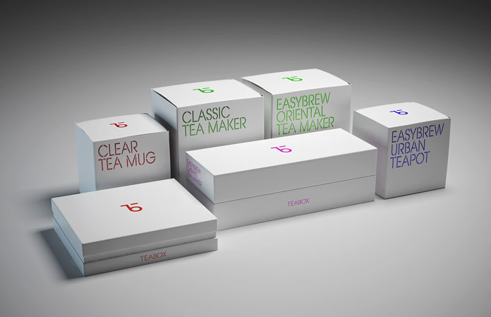 More of the packaging range.