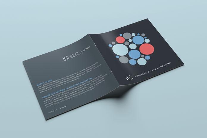 UCHRI Brochure cover opened light blue.