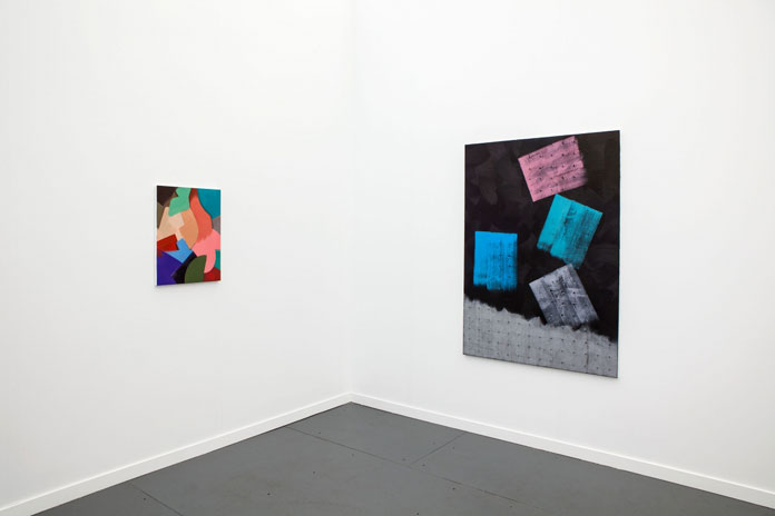 Alex Olson, Solo presentation installation view, Frieze New York, 2014