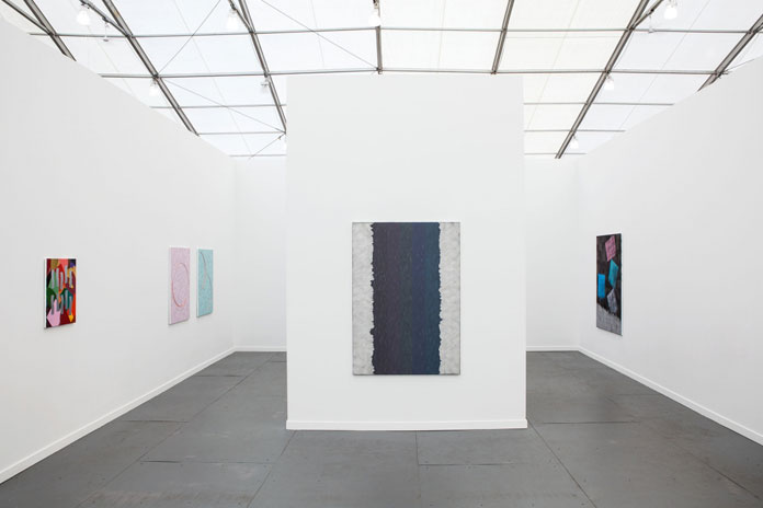 Alex Olson, Solo show at Frieze New York, 2014