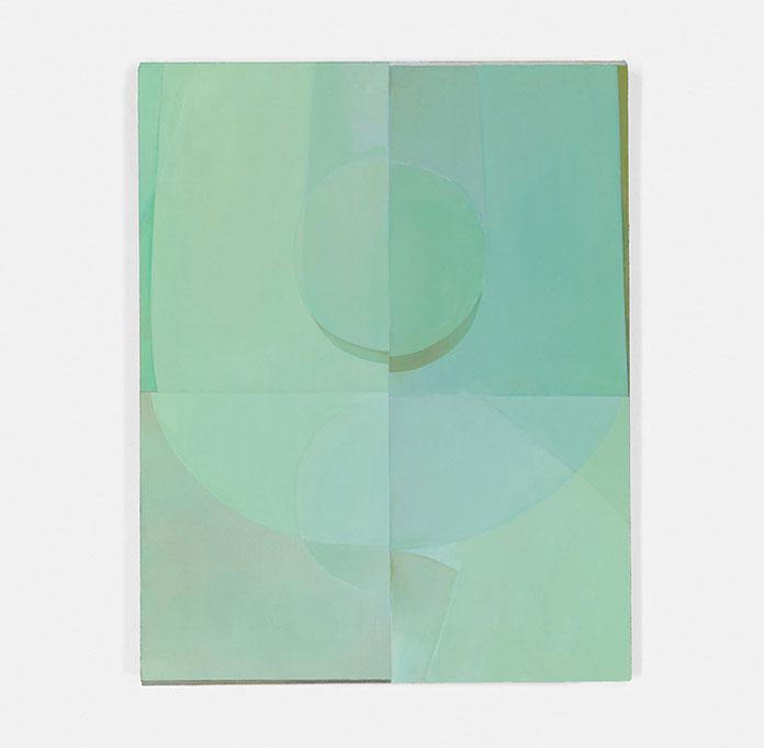Nathlie Provosty – Consonance II. Oil on linen, 19 x 15 (48 x 38 cm), 2016