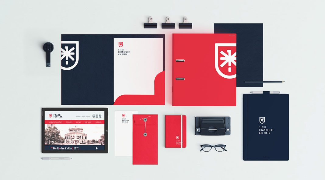 Frankfurt am Main – city identity redesign concept by Gregor Ivanusic.
