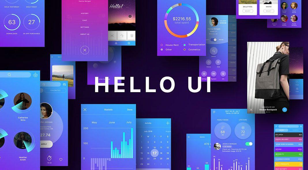 Hello UI Kit – iOS App elements.