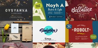 January deal: fonts and graphic design goodies from Pixelo.