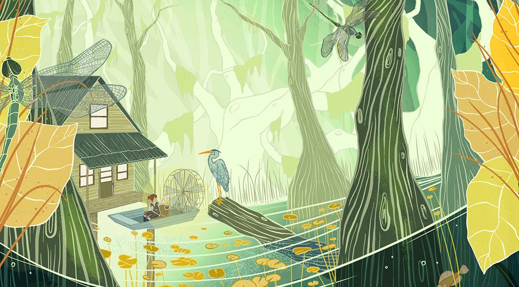 Kailey Whitman illustrations.