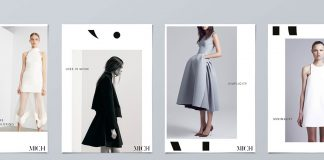 Mich fashion boutique identity by Gary Corr.