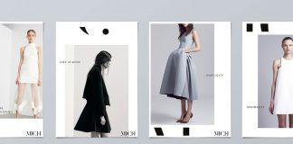 Mich fashion boutique identity by Gary Corr.
