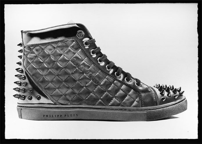 Philipp Plein High Top Sneaker