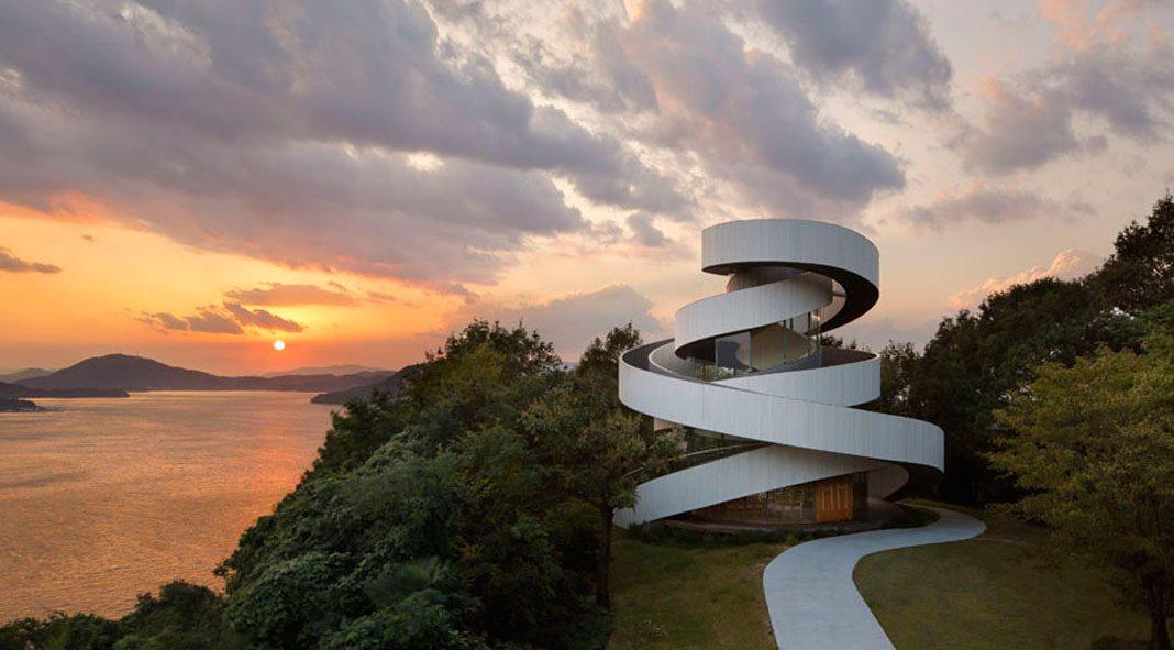 Ribbon Chapel by Hiroshi Nakamura & NAP.