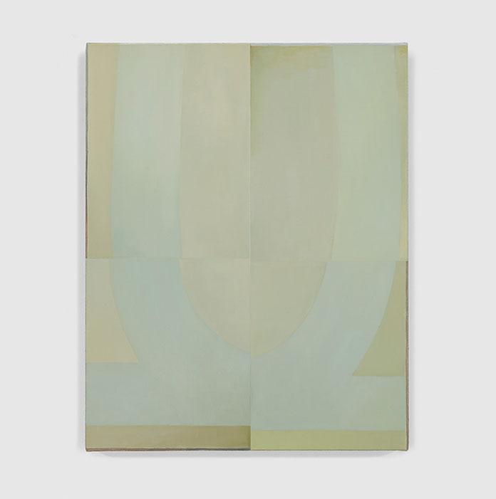 Nathlie Provosty – Techniques of Recognition. Oil on linen, 19 x 15 (48 x 38 cm), 2016