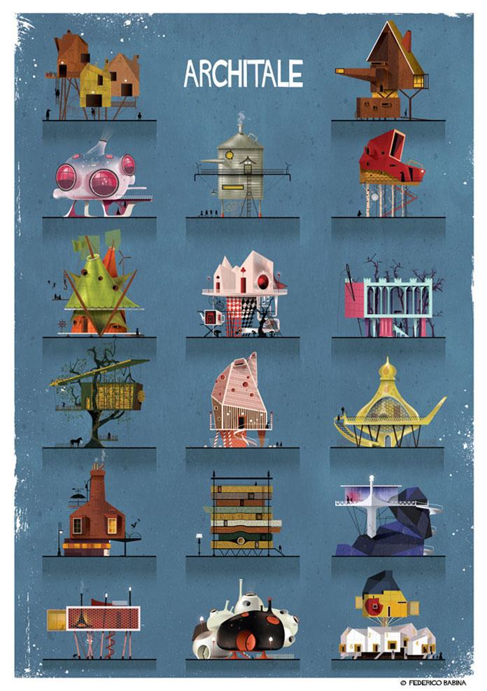ARCHITALE city compilation.