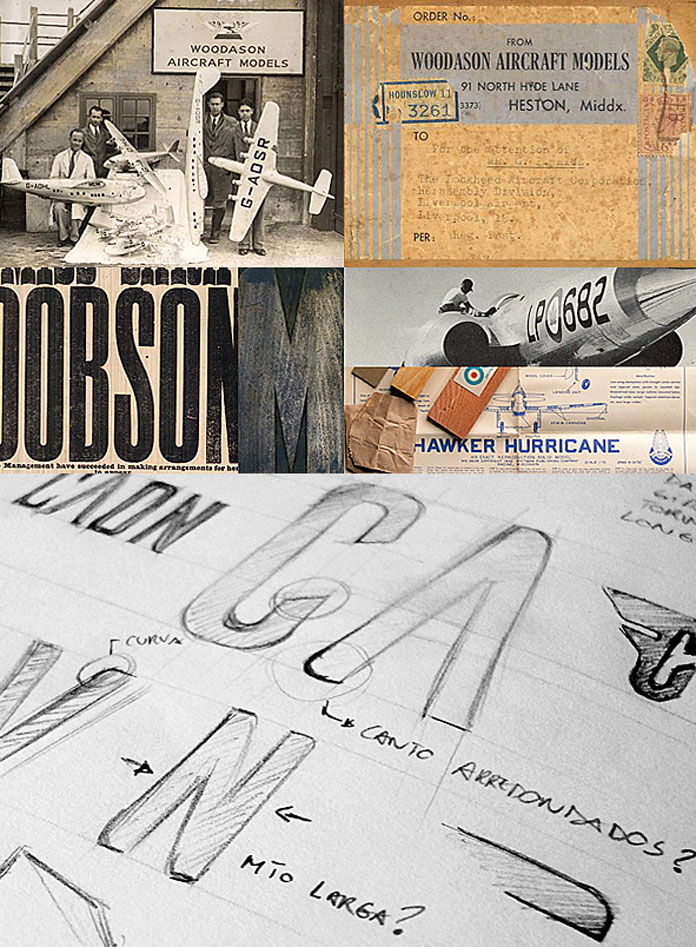 Ailerons typeface by Adilson Gonzales de Oliveira Junior, free font download.