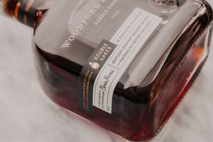 Woodford Reserve – label close up.
