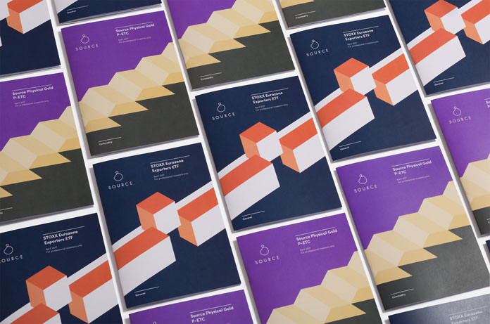 Brochure covers.