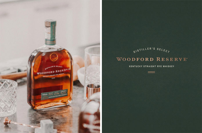 Distiller's Select – Woodford Reserve – Kentucky Straight Rye Whiskey.