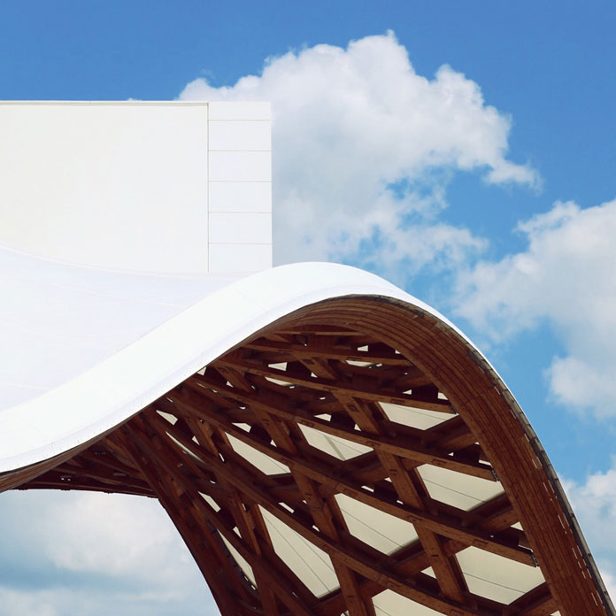 Centre Pompidou-Metz, Location Metz, France, Shigeru Ban Architects