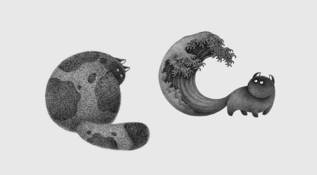 Furry things by Kamwei Fong aka Bo&Friends