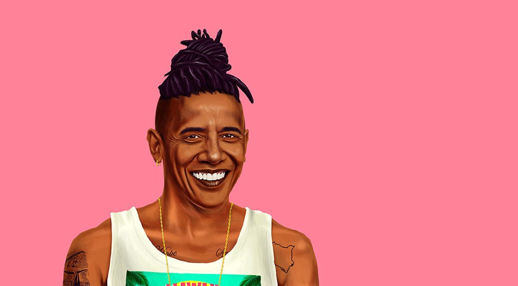 HIPSTORY - Hipster leaders illustrated by Amit Shimoni