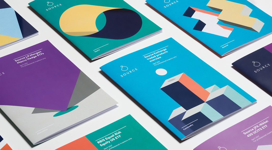 Investment business identity development by Mother Design for Source.