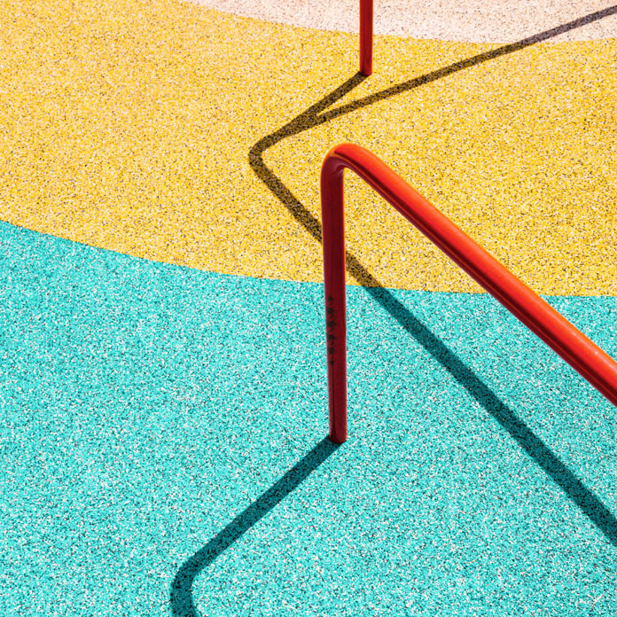 Lines, angles, and colors captured by Matthias Heiderich.