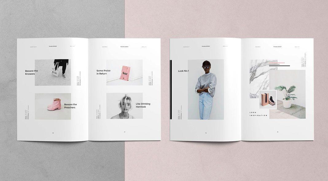 phoebe adobe indesign magazine template. Black Bedroom Furniture Sets. Home Design Ideas