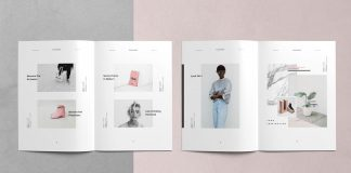Phoebe magazine template from Studio Standard.