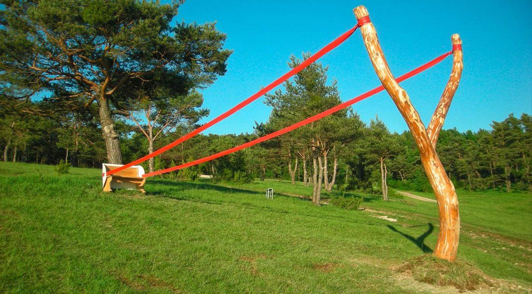Site specific installations by Cornelia Konrads