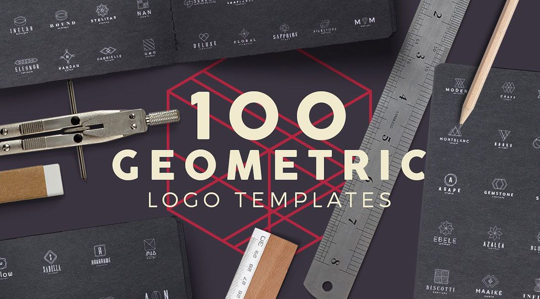 100 geometric logos from Zeppelin Graphics.