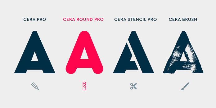 TypeMates Cera Collection.
