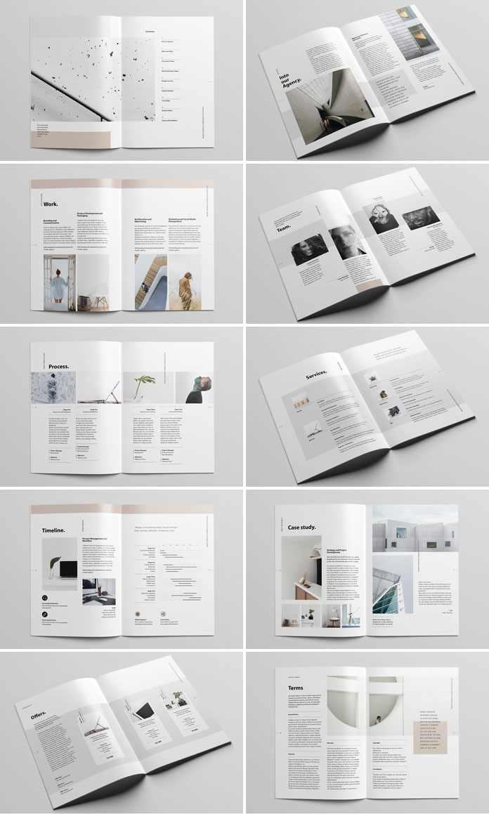 Adobe InDesign file with 22 custom pages.