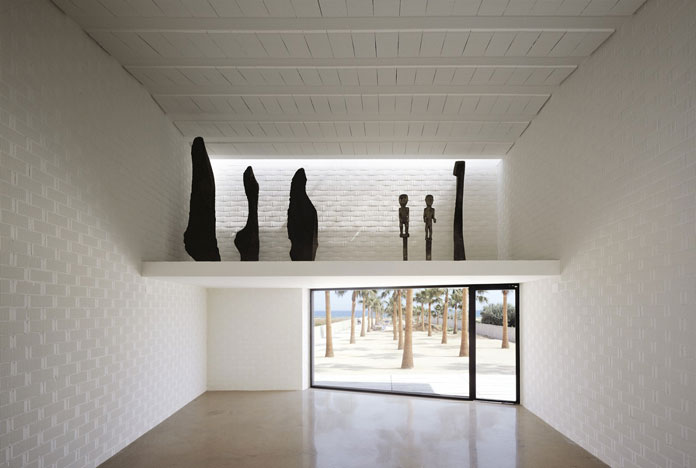 Carlos Ferrater, Interior space.