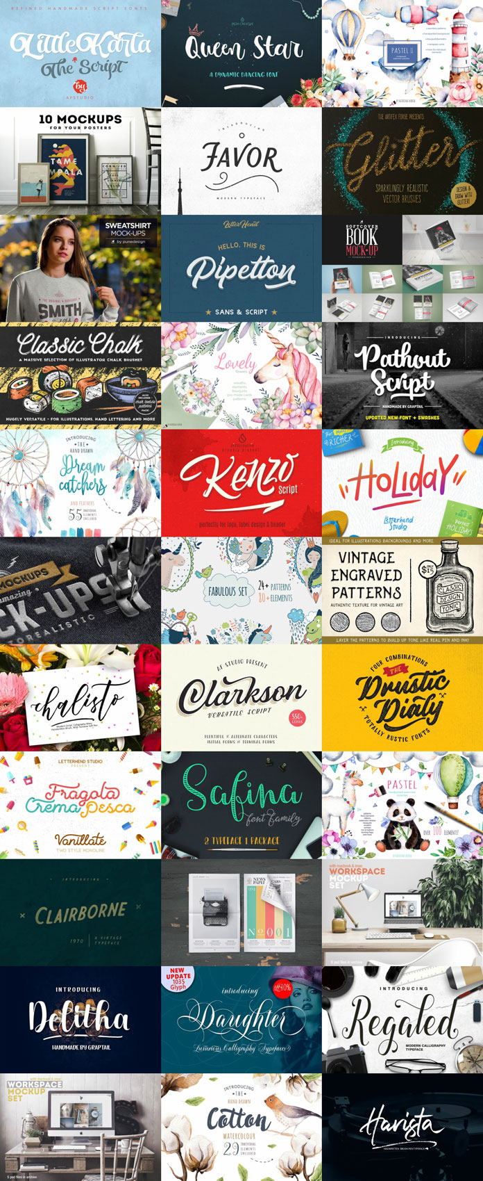Artsy Design Bundle – graphic resources 99% off!