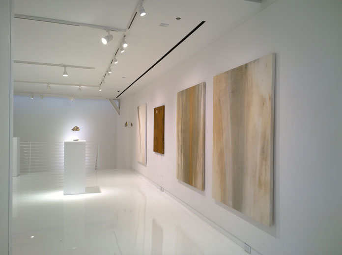Installation view at Sapar Contemporary in Tribeca.