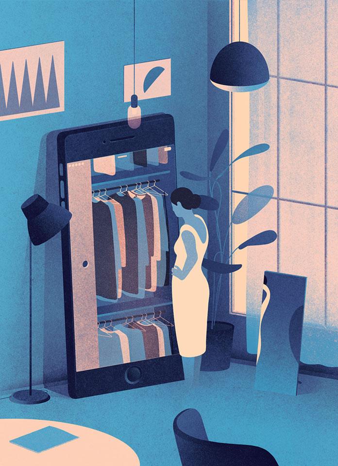 Karolis Strautniekas, Glamour magazine - Smart wardrobe.