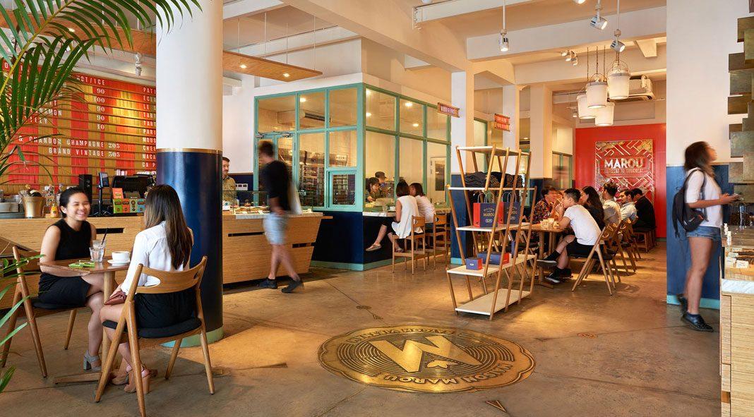 Maison Marou brand identity by Rice Creative.