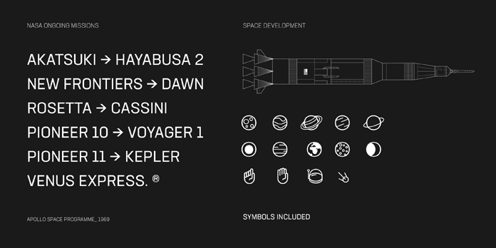Neusa Next Pro, Inspired by Swiss design and the early space explorations.