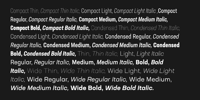 Neusa Next Pro, Type samples in different styles.