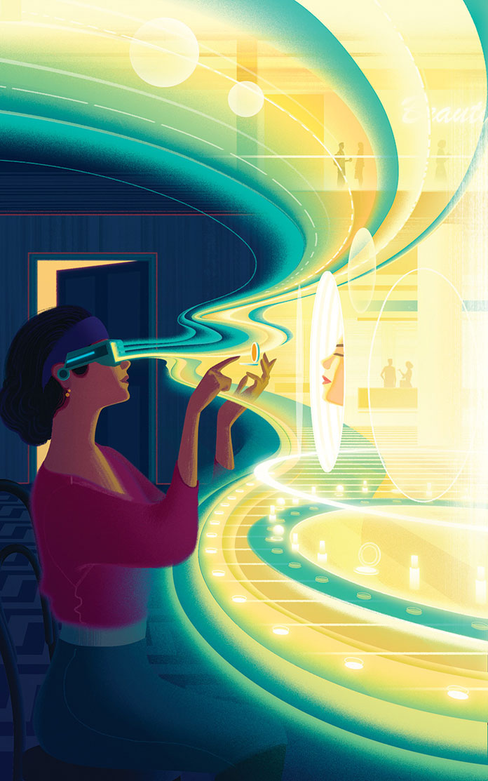 Sam Chivers, Beauty Inc - The Next Dimension.
