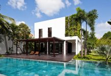 Thao Dien residence by Vietnamese studio MM ++ Architects.