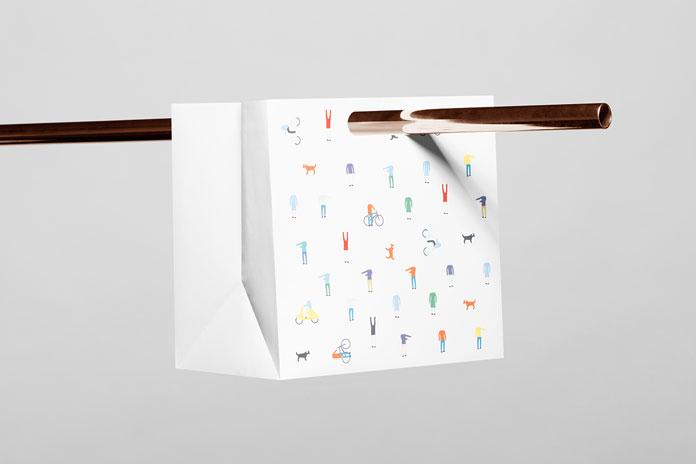 Bolsa de papel.