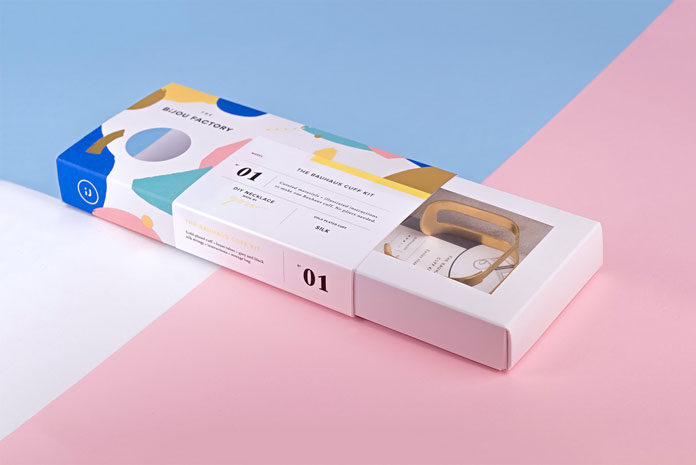 Fresh and colorful packaging.