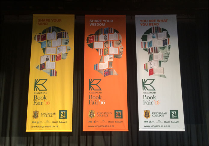 Kingsmead Book Fair, Banners.